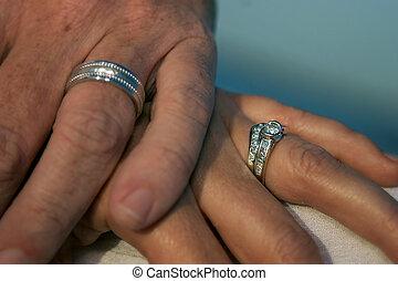 amor, manos