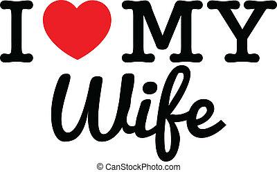 amor, mi, esposa