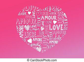 amor, palabras