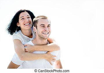 Amor - pareja joven