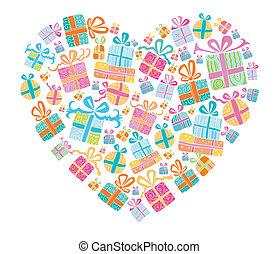 amor, presentes