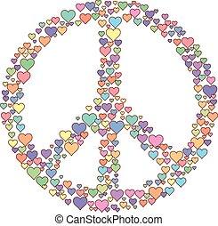 Amor signo de paz