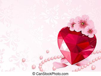 Amor y flor de cerezo