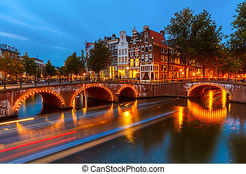 amsterdam, canales