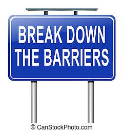 analizar, barriers.