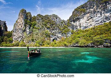 andaman, isla, phi, tailandia, phuket