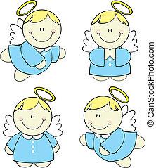 Angelitos de bebé listos