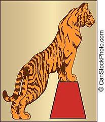 Animal tigre