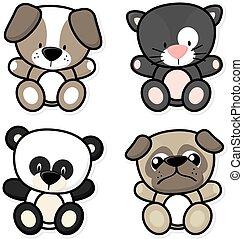Animales de bebé