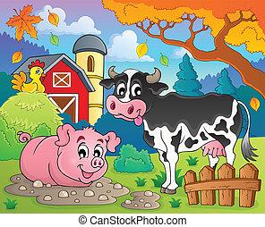 Animales de granja tema 2