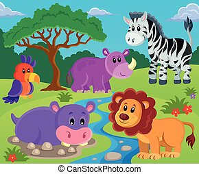 Animales de tema imagen 2