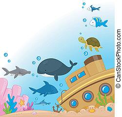 Animales submarinas