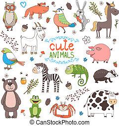Animales vector