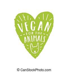 animales, vegetariano