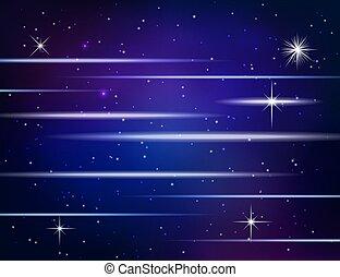 Antecedentes abstractos con estrellas