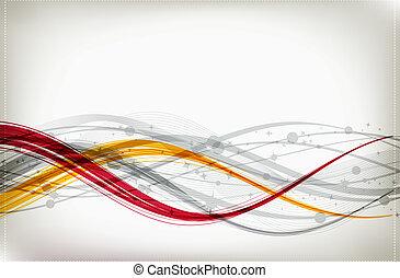Antecedentes abstractos para tu diseño