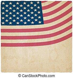 Antecedentes antiguos de la bandera americana