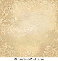Antecedentes antiguos de papel antiguo. Ilustración de vectores