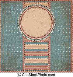 Antecedentes antiguos de papel con estilo