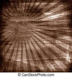 Antecedentes antiguos: papel con rayos de sol
