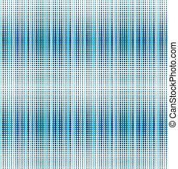 Antecedentes azules con puntos
