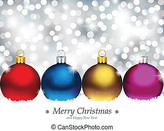 Antecedentes brillantes con Navidad