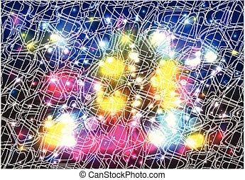 Antecedentes coloridos abstractos - vector