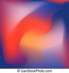Antecedentes coloridos, rojo y naranja azul