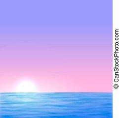 Antecedentes con el sol del mar