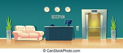 Antecedentes con recepción en el hotel
