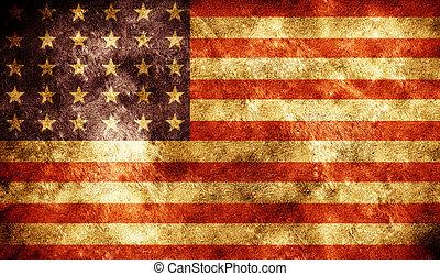 Antecedentes de bandera americana grunge