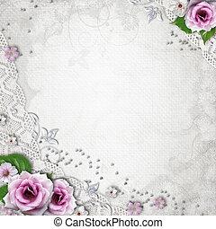 Antecedentes de boda elegantes