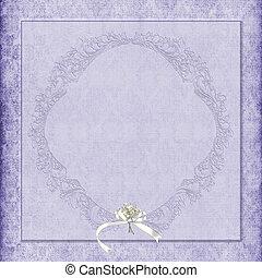 Antecedentes de bodas de damasco púrpura