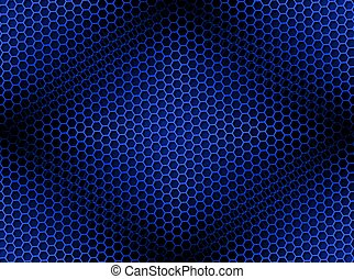 Antecedentes de carmesí azules