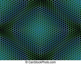 Antecedentes de carmesí sin manchas de verde azul