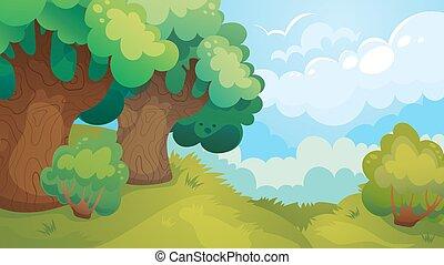 Antecedentes de juego Forest Glade