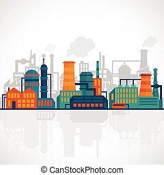 Antecedentes de la industria plana