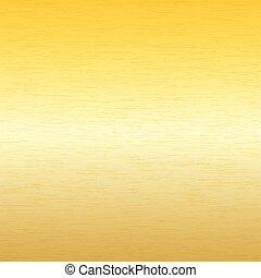Antecedentes de metal, textura de placas de oro cepilladas