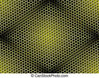 Antecedentes de miel sin manchas amarillas
