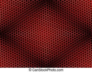 Antecedentes de panal rojos