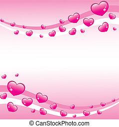 Antecedentes de San Valentín rosa