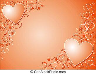 Antecedentes de San Valentín, vector