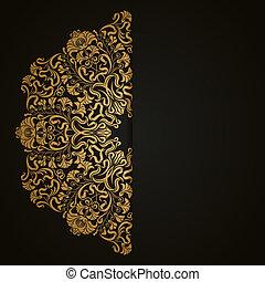 Antecedentes elegantes con adornos de encaje