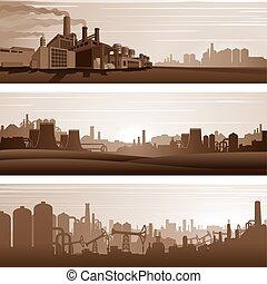 Antecedentes industriales, paisajes urbanos