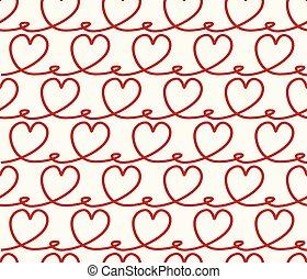 Antecedentes inmaculados con corazones