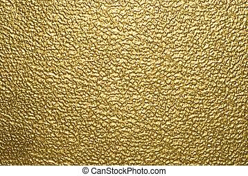Antecedentes metálicos, oro