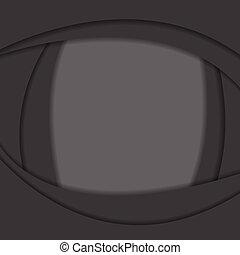 Antecedentes ondulados abstractos negros