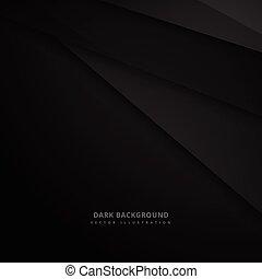 Antecedentes oscuros