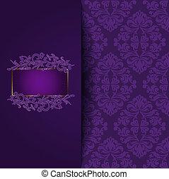 Antecedentes púrpuras antiguos