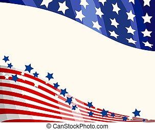Antecedentes patrióticos de la bandera americana